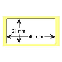 Label4Me | Etichetta in carta 40mmx21mm
