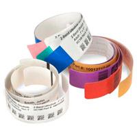 Label4Me | Rotolo braccialetti 25X279mm RED STRIPES Z-