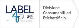 Divisione Consumabili ed Etichettificio
