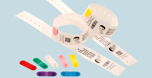 Stampa braccialetti Rfid