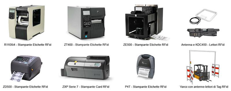 Le migliori stampanti di tag rfid sul mercato Zebra e lettori rfid KDC450