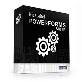 nicelabel software professionale Powerforms Suite gestione creazione e stampa etichette
