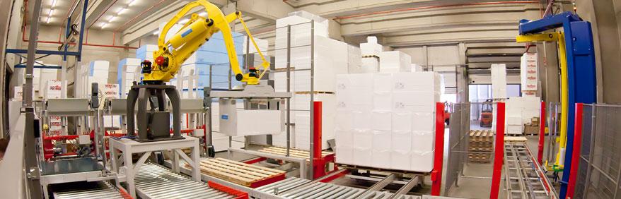 Soluzioni di automazione e di tracciabilità dei processi lungo tutti i diversi fine linea industriali