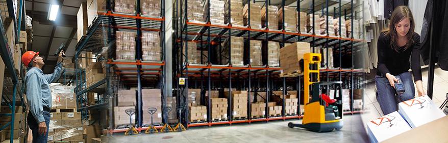 Stoccaggio merci in magazzino