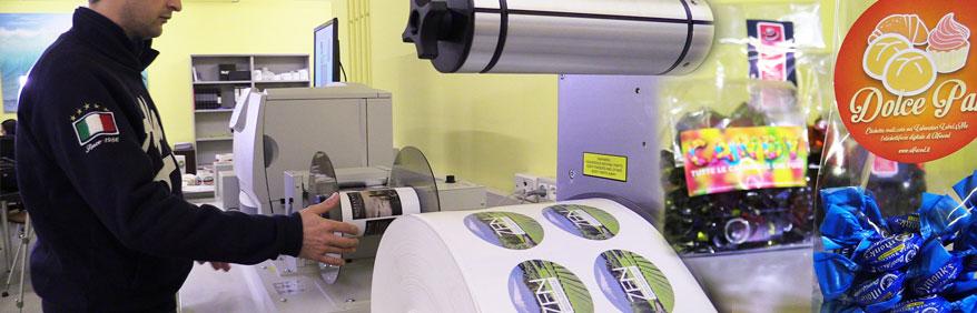 Soluzioni stampa etichette a colori