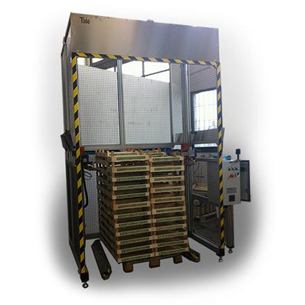 AlfaVisio2400 torre automatica con scanner lettura barcode 1D/2D