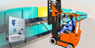 Software gestione magazzino per identificazione pallet ed automazione dei carrelli elevatori