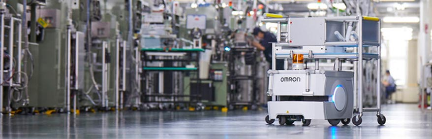 Robot mobili Omron