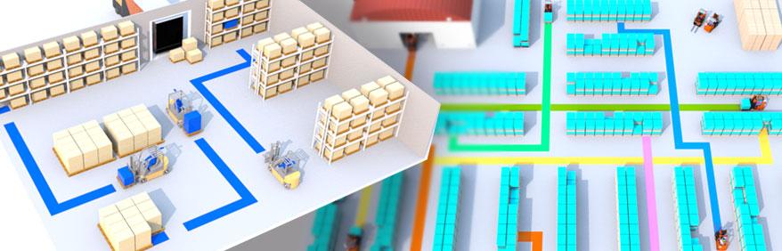 Mappatura magazzino in 3D