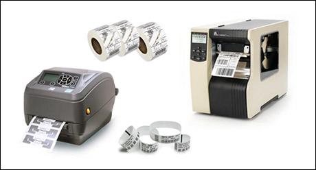 stampanti e scrittori di etichette, tag e braccialetti rfid uhf
