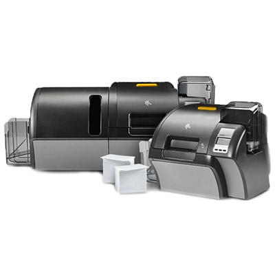 Stampante per card Zebra ZXP9, trasferimento termico, grafica avanzata, veloce, YMCKO