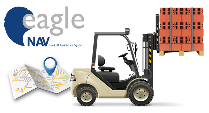 forklift guidance system, gestione e controllo dei muletti per la guida del carico/scarico dei pallet in magazzino