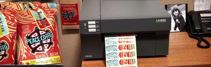 Soluzioni stampa inkjet etichette a colori