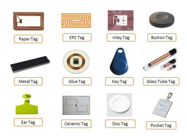 varie tipologie di tag rfid