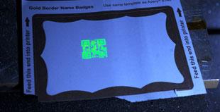 Etichette anticontraffazione con QRcode invisibile