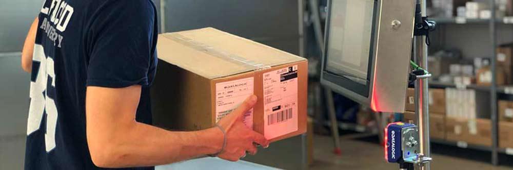 lettura barcode su carrello Alfacod