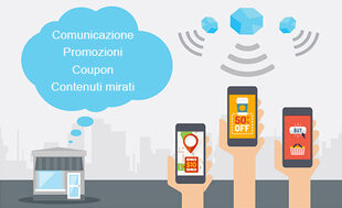 beacon intelligenti che parlano al cliente inviando messaggi personalizzati, questo è il beacon marketing