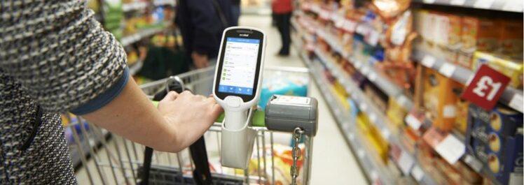 Terminale barcode mobile Zebra Personal Shopper MC1X