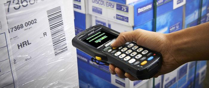 Terminale barcode mobile Zebra MC67